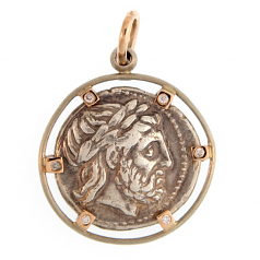 Ancient Greek AR Tetradrachm - Zeus