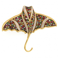 Stingray Pin / Pendant