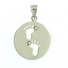 Footprints Pendant