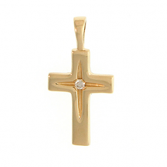 Cross with Diamond