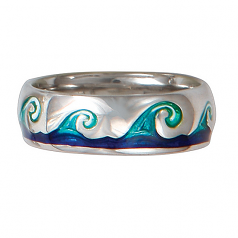 Sterling Wave Ring