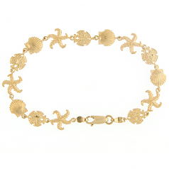 Three Shell Bracelet
