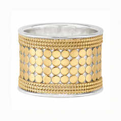 Sterling Vermeil Band Ring
