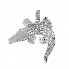 Sterling Alligator Pendant