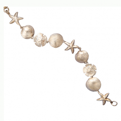 Sterling Seashell Bracelet