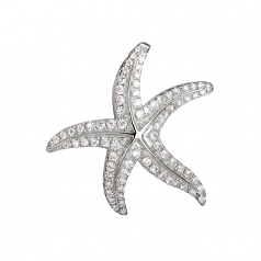 Sterling Starfish Pendant