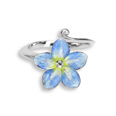 Sterling Forget-Me-Not Flower Ring