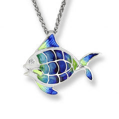 Sterling Fish Necklace