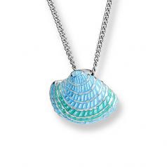 Sterling Clam Shell Necklace