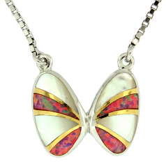 Coquina Shell Necklace