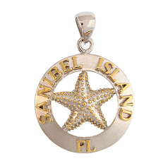 Sanibel Starfish Pendant