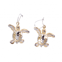 Sterling Turtle Earrings