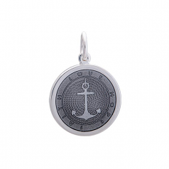 Sterling Anchor Pendant