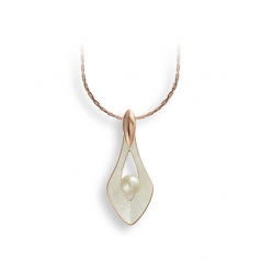 Sterling Teardrop Necklace