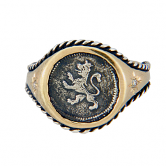 Spanish Quartilla Coin Ring