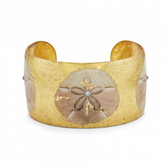 """Sanddollar"" Cuff by Evocateur"
