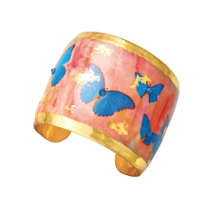 """Butterfly Sunset"" Cuff by Evocateur"