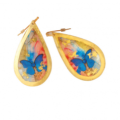 """Butterfly Sunset"" Earrings by Evocateur"