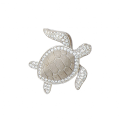 Sterling Turtle Pendant