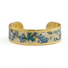 """Blue Firenze"" Cuff by Evocateur"