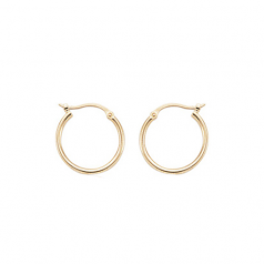 1.5 x 15MM Hoop Earrings
