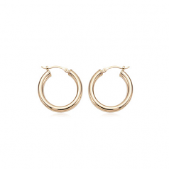 3 x 20MM Hoop Earrings