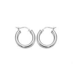 3 x 18MM Hoop Earrings