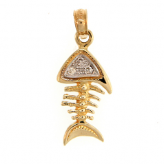 Fishbones Pendant