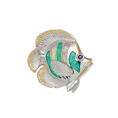 Butterfly Fish Pendant