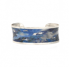 """Cast Yourself on Every Wave"" Cuff by Evocateur"