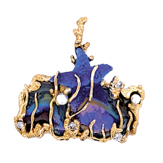 """Beneath the Deep Blue Sea"" Pendant"