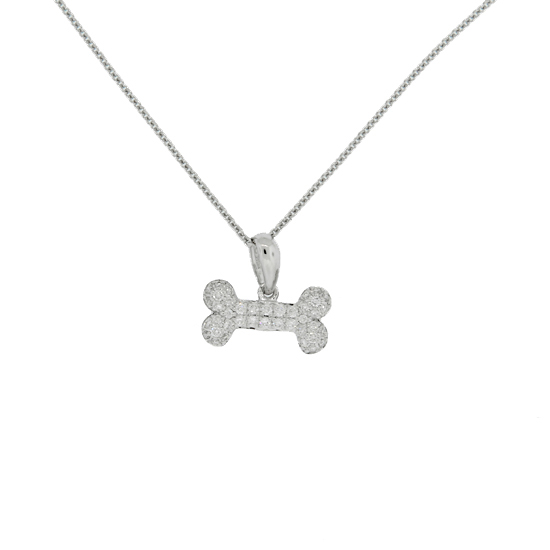 Sea life charms necklaces and pendants inspired by the beach and sea diamond dog bone necklace aloadofball Gallery
