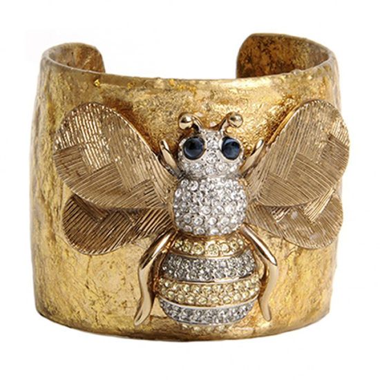 """""""Bumble Bee"""" Cuff by Evocateur"""