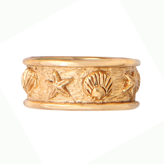 Shells Band Ring