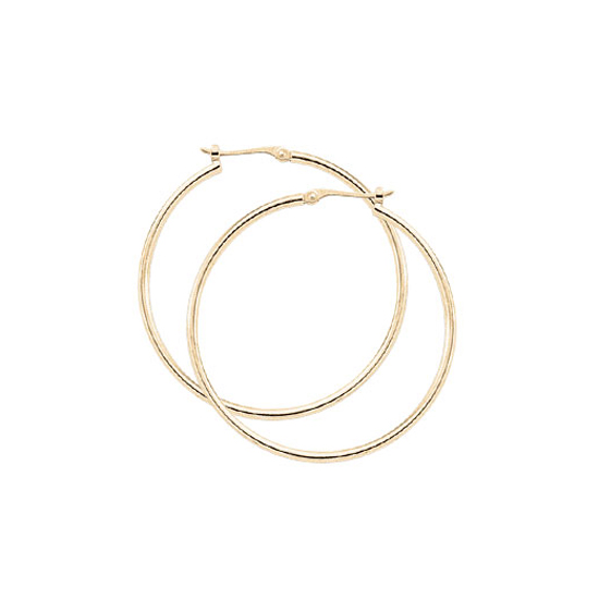 1.5 x 30MM Hoop Earrings - Other Colors Available