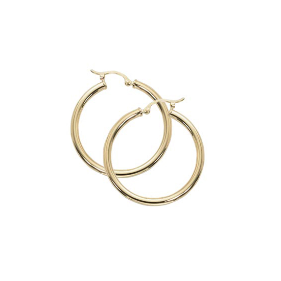 2.5 x 30MM Hoop Earrings