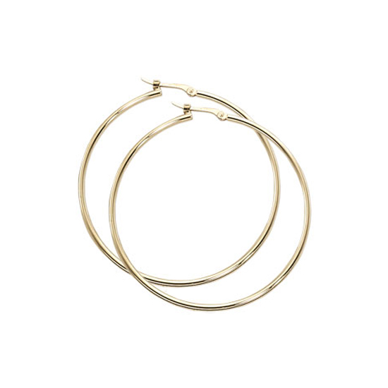 1.5 x 40MM Hoop Earrings - Other Colors Available