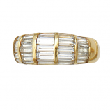 18Kt and Diamond Estate Ring