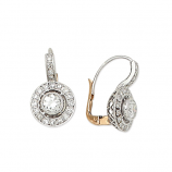 Estate Art Deco Diamond Earrings