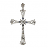 **SOLD** Estate Edwardian Cross Pendant