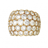 18Kt Diamond Estate Dome Ring