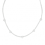 Estate Diamond Heart Necklace