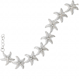 Sterling Starfish Bracelet
