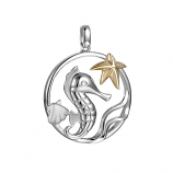 Sterling Sealife Pendant