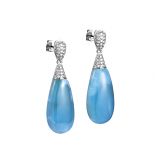 Sterling Larimar Earrings