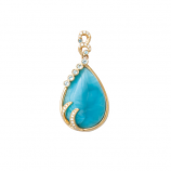 Tears of Joy Larimar Pendant