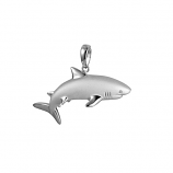 Sterling Shark Pendant