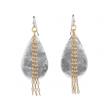 """Delia in Chains"" Teardrop Earrings by Evocateur"