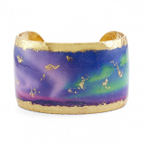 """Aurora Borealis"" Cuff by Evocateur"