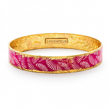 """Pink Azalea"" Bangle by Evocateur"